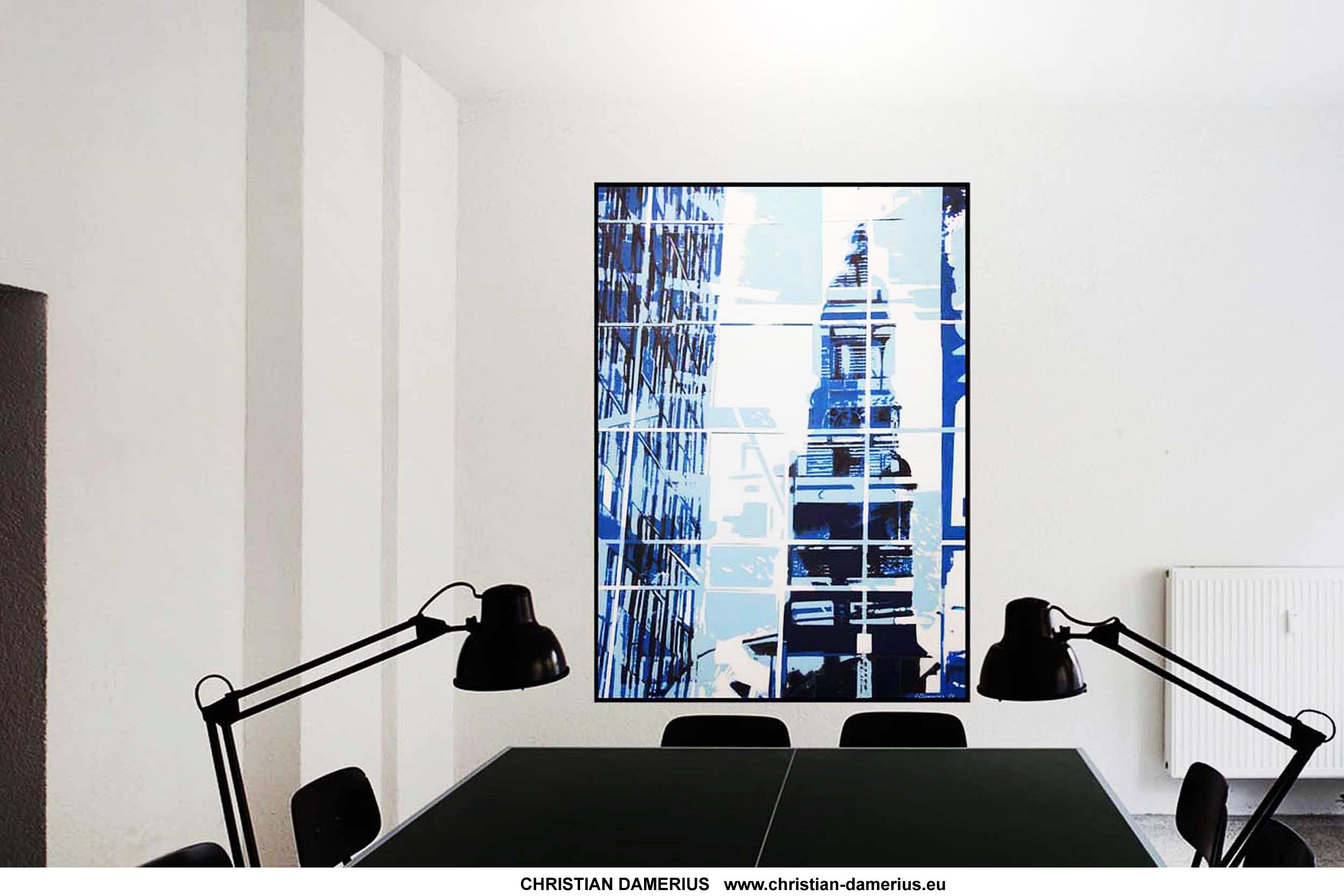 Wandgestaltung Hamburg christian damerius moderne auftragsbilder hamburg reinbek