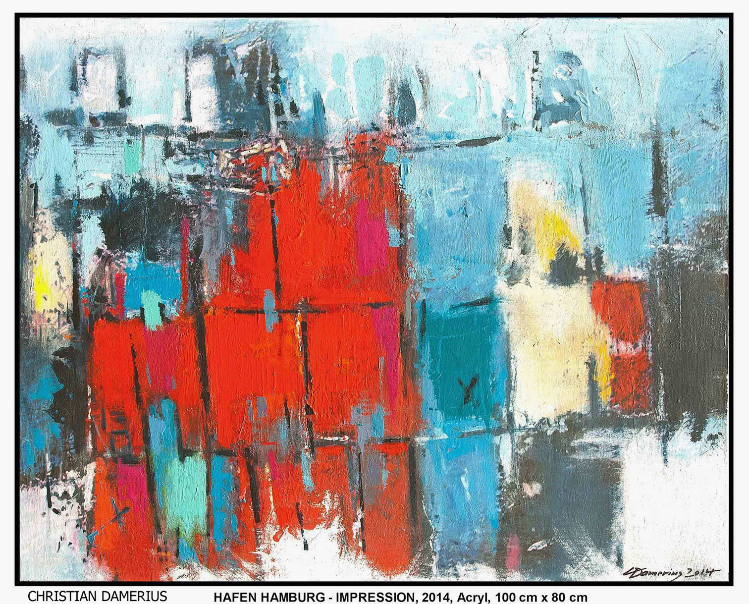 christian damerius hamburger malerei bilder kunstdrucke leinwand moderne auftragsmalerei hamburg. Black Bedroom Furniture Sets. Home Design Ideas