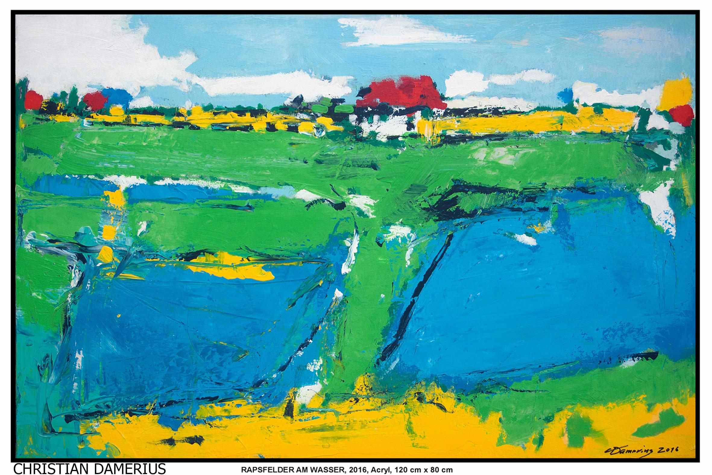 Landschaftsmalerei moderne malerei auftragsbilder - Acrylbilder malen vorlagen ...